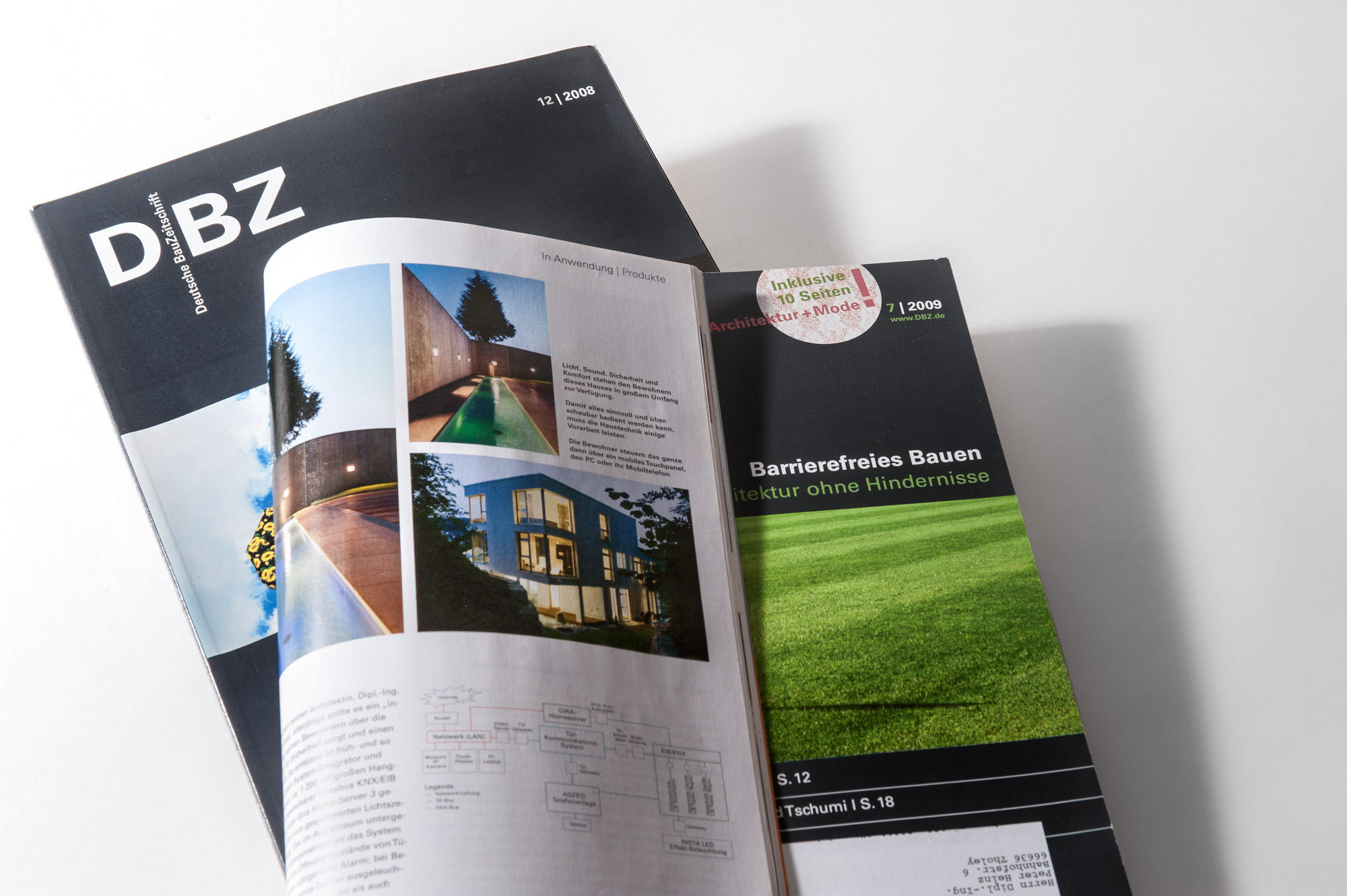 Publikation Deutsche Bauzeitschrift