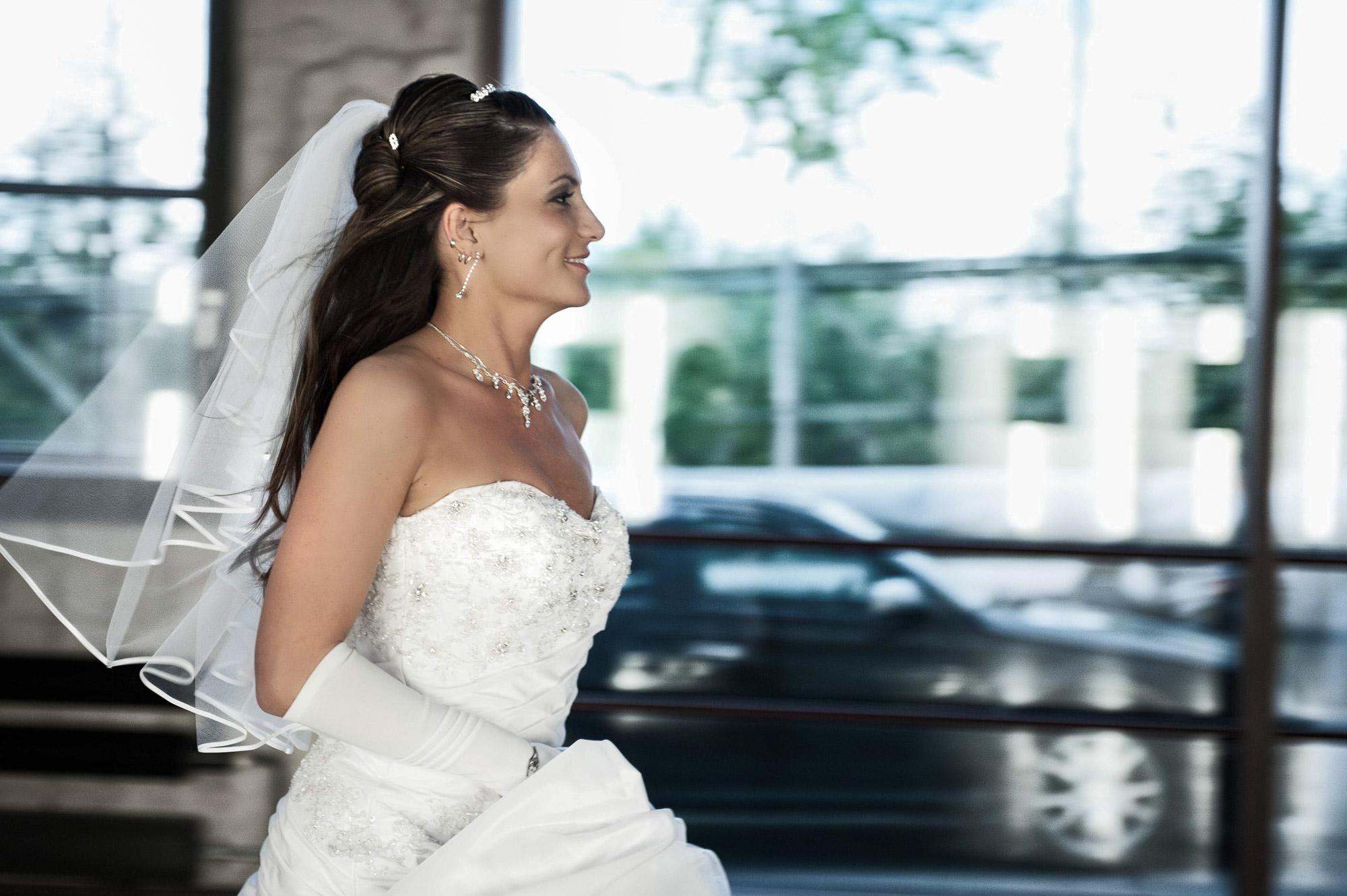 Hochzeitsfoto im Reportagestiel