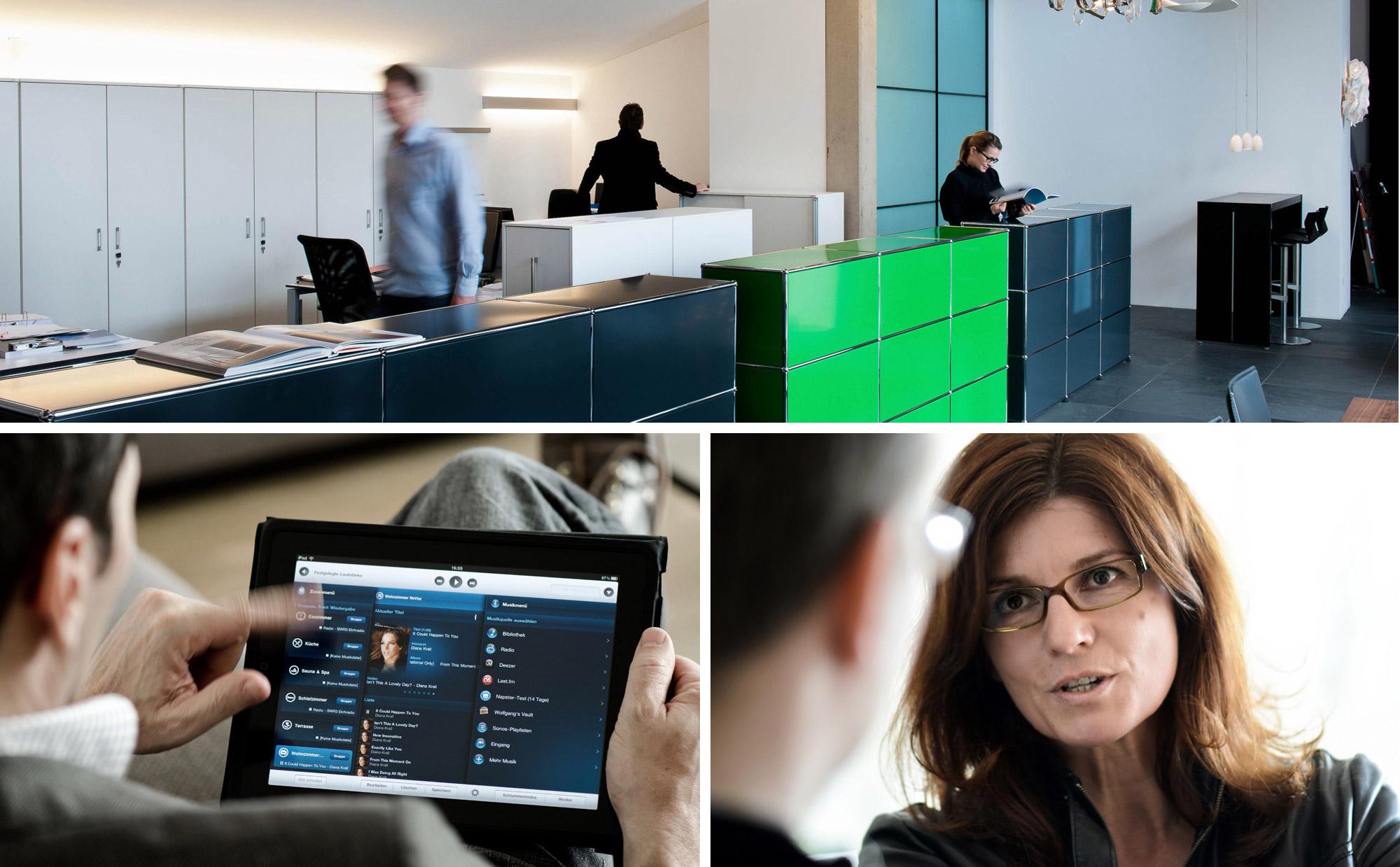 Imagebroschuere Business Unternehmen Architekturfachpresse
