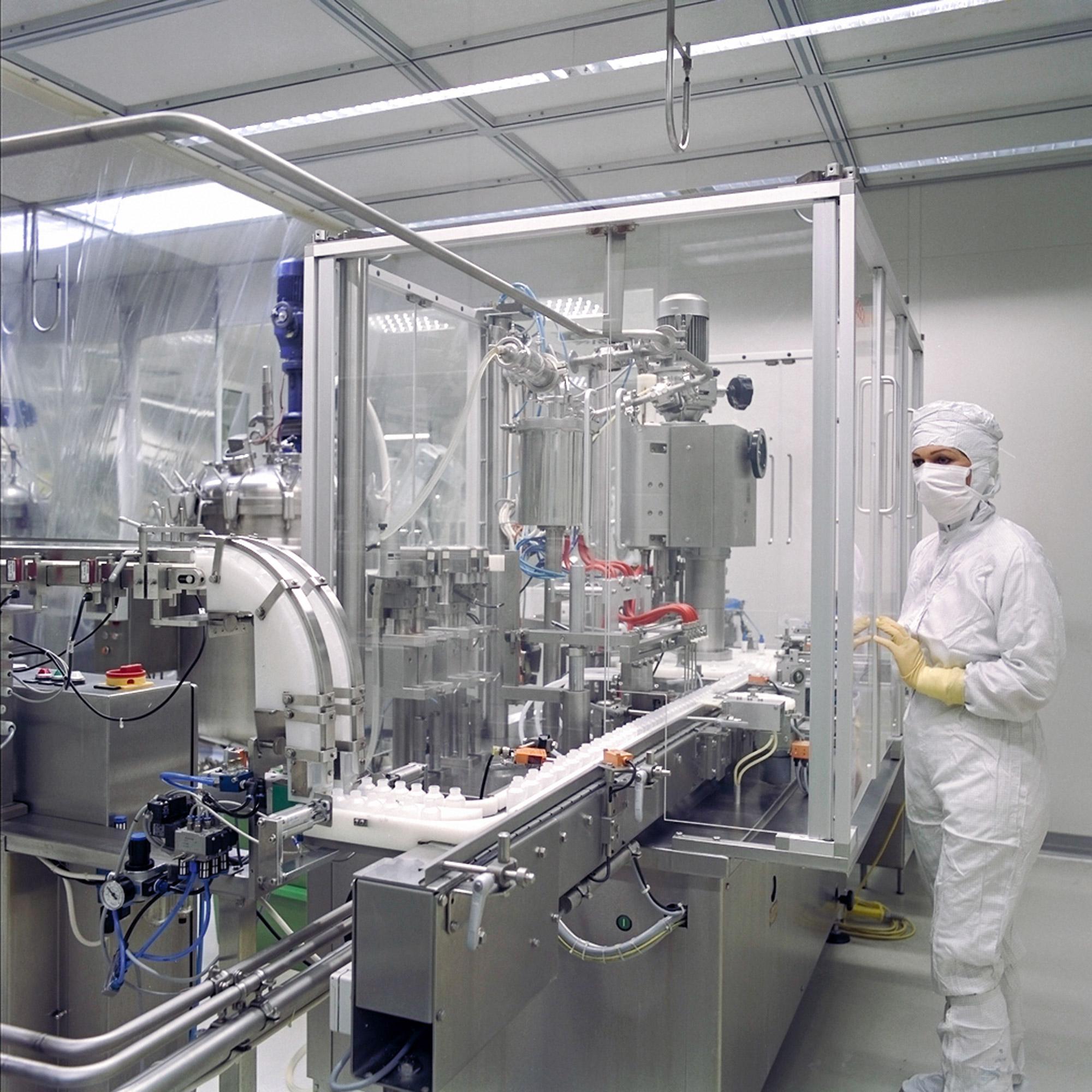Pharmaindustrie Reinraum