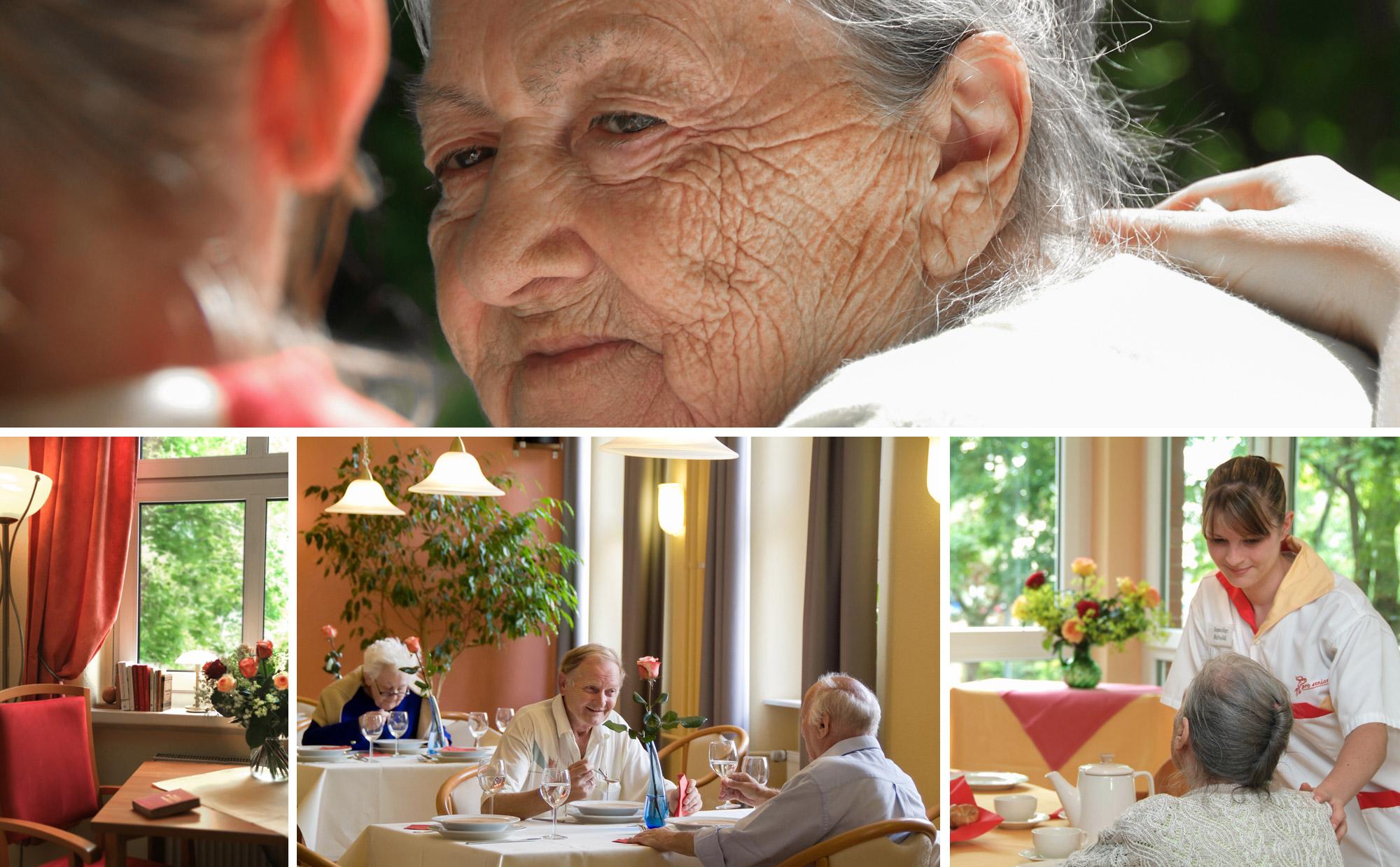 Prospekt Altenpflege Seniorenresidenz Pro Seniore