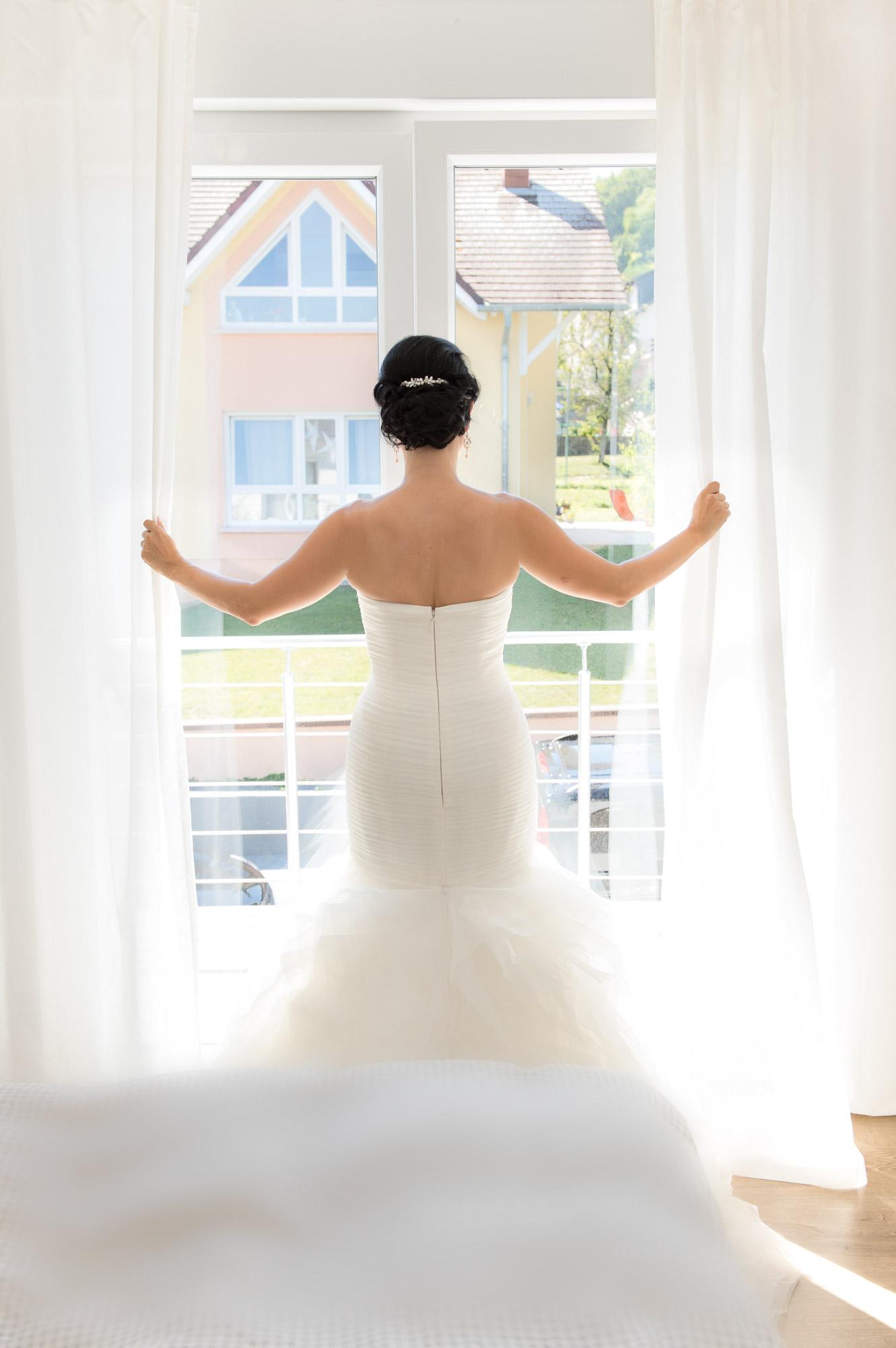 Romantisches Hochzeitsfoto