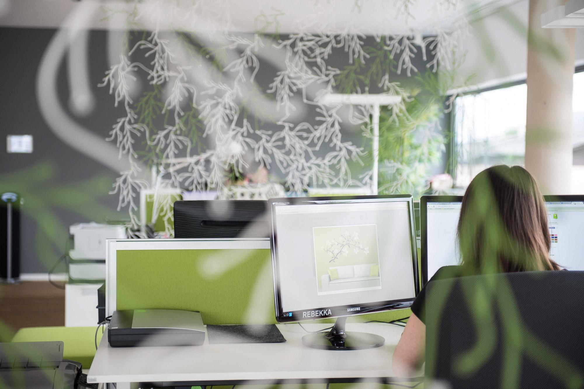 Designabteilung Grafikbüro
